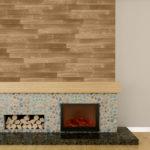 Plancher de Interbois en Pine de couleur Copper 2D