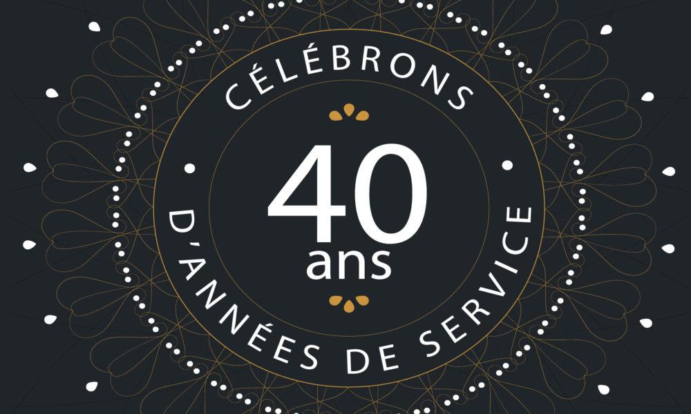 Bois Franc du Lac souligne son 40e anniversaire !